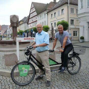 Günzburg Tandem Landrat-Hafner-und-OB-Jauernig-mit-Bayerisch-Schwaben